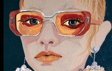 Илюстрация за списание Numéro Tokyo - визия Prada SS16