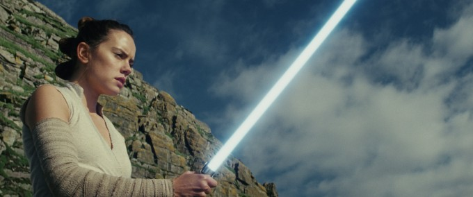"""Дейзи Ридли в """"Междузвездни войни: Последните джедаи"""""""