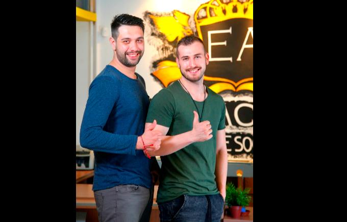 Борис Денински и Петър Стоичков от Event Academy Bulgaria