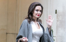 Анджелина Джоли се срещна с Бриджит Макрон