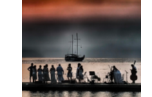 Симфоничният оркестър на Анкара на Hillside Classical Music on the Beach