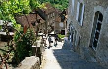 Вертикалното френско градче Рокамадур