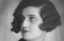 """Люба Йоцова, """"Мис България"""" 1929 г."""