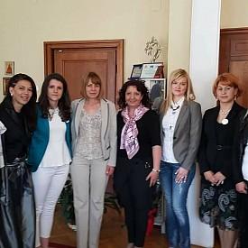 """Заедно с кмета на София Йорданка Фандъкова на първата годишнина на """"Майки за донорство"""""""