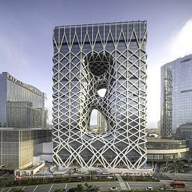 Архитектурен шедьовър: В Макао откриха сграда по проект на Заха Хадид