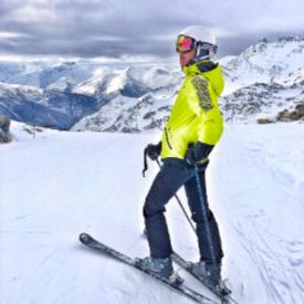 Френските Алпи от най-високия ски курорт Вал Торенс