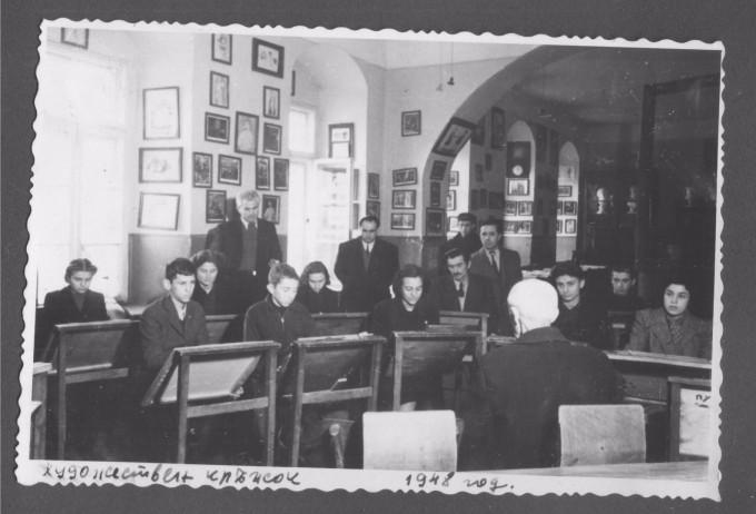 Художественият кръжок в Габрово, 1948.