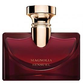 Magnolia Sensuel е новата звезда в ароматната колекция Splendida на BVLGARI. Изключително женствен, парфюмът разкрива флоралната и мистериозна магия на магнолията, подчертана от сицилианска мандарина, портокалов цвят, нероли, пачули и ванилия.