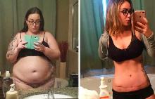 10 невероятни преобразявания на хора, които са отслабнали с 40 кг и повече