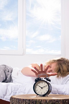 НЕ НАТИСКАЙТЕ БУТОНА ЗА ОТЛАГАНЕ НА АЛРАМАТА  Каквото и да направите, не го натискайте – няколко минути повече сън няма да са ви от полза.