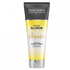 Изсветляващ балсам за руса коса Sheer Blonde Go Blonder Lightening Conditioner на JOHN FRIEDA, 250 мл, 17 лв.