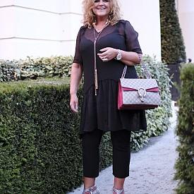 Signy FARDAL, главен редактор, Норвегия, рокля Baum & Pferdgarten, чанта Gucci, обувки Miu Miu