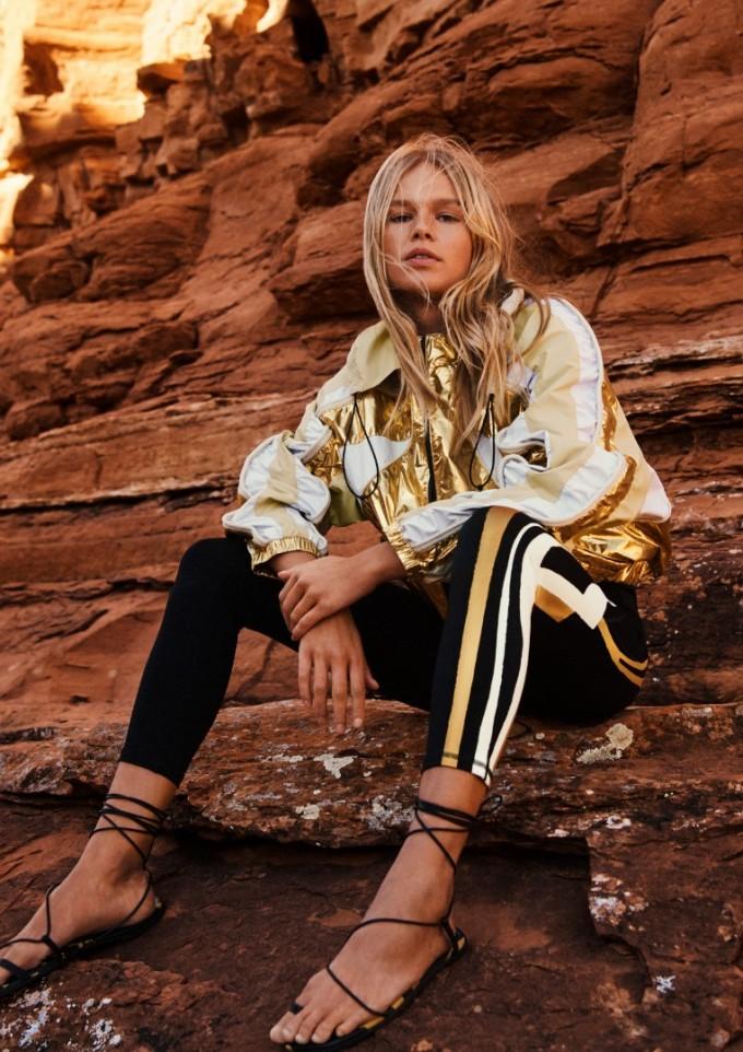 Вместо подиум в Париж, H&M избра пустинята Седона, за да покаже новата си колекция