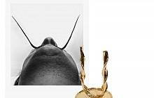 Свещник Nibelung във формата на мустаците на Салвадор Дали