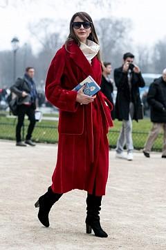 20 street style визии с дълго палто