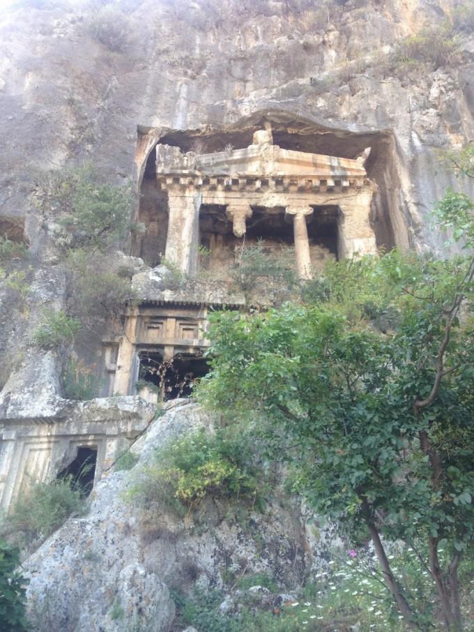 Ликийските скални гробници край Фетие
