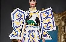 Уроци по изкуство от Moschino пролет-лято 2020