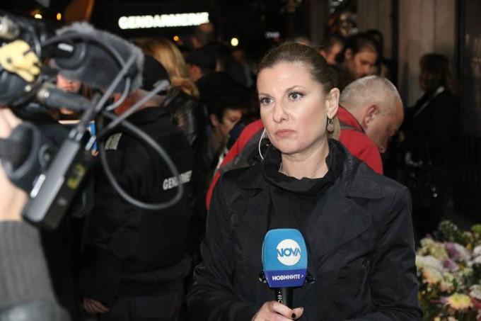 Миролюба Бенатова пред камерата на NOVA