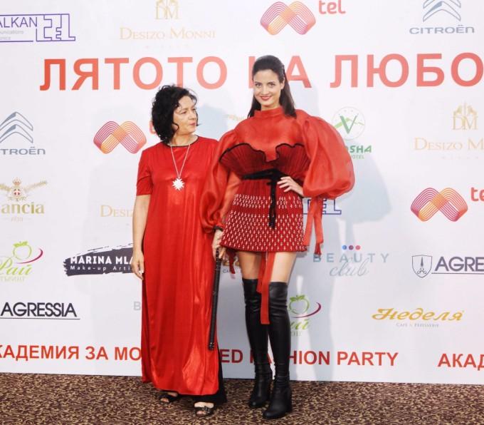 Мариела Гемишева представи аутфит, специално побран...