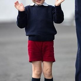 Принц Джордж - син на принц Уилям; Внук на принц Чарлз; Пра-внук на кралица Елизабет II