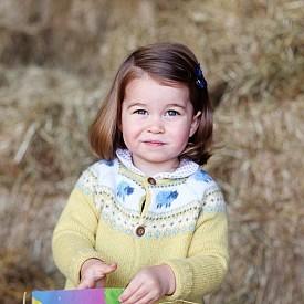 Принцеса Шарлот - Дъщеря на принц Уилям; Внучка на принц Чарлз; Пра-внучка на кралица Елизабет II