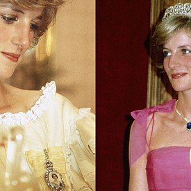 НЯМА СЛУЧАЙНИ БРОШКИ: По време на официални поводи, Даяна често носи една особена брошка към роклята си. Ако се вгледате внимателно, ще забележите, че на нея е образът на кралица Елизабет. Официалното име на тази брошка е Family Order of Queen Elizabeth и се връчва на някои от жените от кралското семейство. На нея, на слонова кост, е изобразена младата кралица, носеща вечерно облекло. Образът ѝ е  обграден с диаманти и е захванат с копринена панделка.