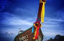 """Ко Пи Пи Дон, Тайланд, където е сниман филмът """"Плажът"""""""