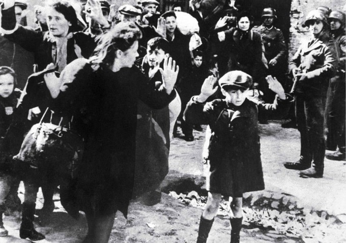 Jewish Boy Surrenders in Warsaw