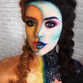 Грим-визията, с която Алина Шейк спечели първо място на Face Awards