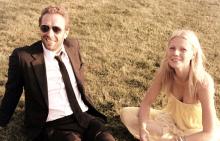 Крис и Гуинет на сватбата си