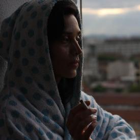 """Ирмена Чичикова в кадър от филма """"Виктория"""""""