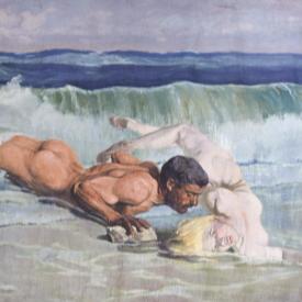 """""""Голото мъжко тяло"""" в творбите на 54 автори"""