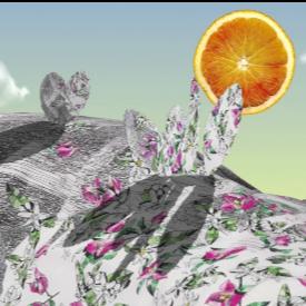 Материята от портокалови обелки за капсулната колекция Orange Fiber на Salvatore Ferragamo