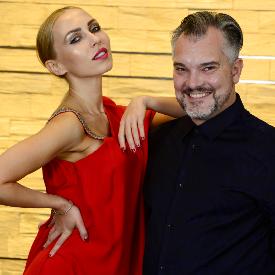 Хосе Луис Юве и Жасмина Маджид в София