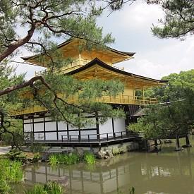 Храмът Кинакаку-Джи в Киото
