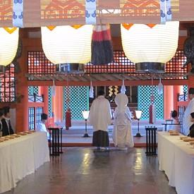 Японска сватба в Мияджима