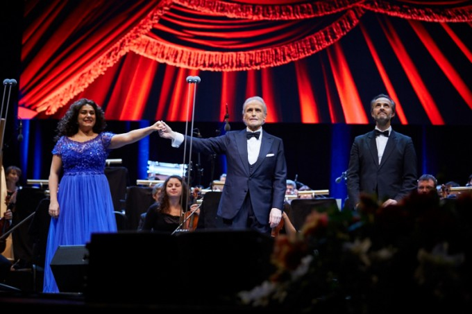 Хосе Карерас изнесе прощален концерт в София