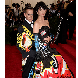 """Кейти Пери и Джеръми Скот на червения килим на """"Met Gala"""""""