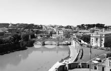 """Гледка от покрива на двореца """"Сант Анжело"""""""
