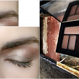 Cover shot: Eye palettes са сенки, които се преливат лесно, издържат през целия ден, като запазват цвета си, без да се размазват или събират.