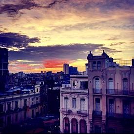 Залез над стара Хавана
