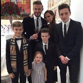 Семейство Бекъм