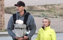 Владимир, Хейдън и Кая на разходка