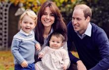 Принц Уилям и херцогиня Катрин с децата си принц Джордж и принцеса Шарлот