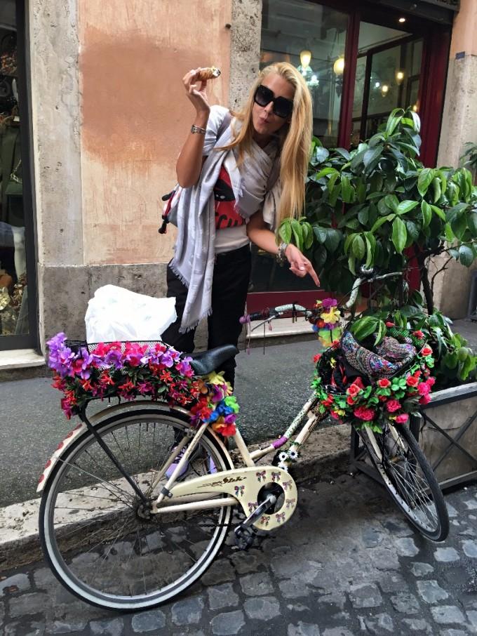 Малките улички на Рим са голямата любов на Венета