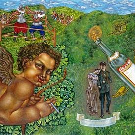 O, Bourbon!, 1997. Маслени бои на ленено платно