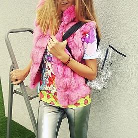 Тениска Dizzy Unicorn от Flower's and Co Gallery Панталон, елек, чанта  и обувки - личен гардероб