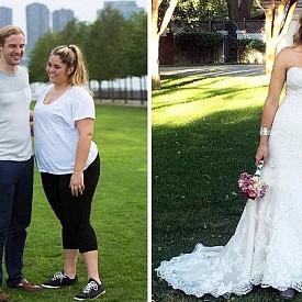 ХЕЙЛИ СМИТ – СВАЛИЛА 50 кг. / Австралийката също отслабнала заради сватбата си – тя винаги е била пълна и никога не се замисляла за фигурата си, докато не видяла снимките от момента, в който избраникът й прави предложение. Тогава тя решила да промени начина си на живот и започнала да спортува и да се храни здравословно.