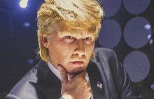 Джони Деп като Доналд Тръмп