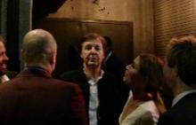 Гонят сър Пол Макартни и гостите му